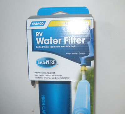 These RV filters are designed to last three months. Our water has completely clogged them in one month.